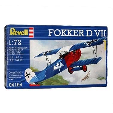 Revell Revell Maket 1:72 Fokker D VII Renkli